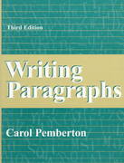 Writing Paragraphs 3rd edition 9780205260799 0205260799