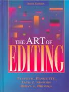 The Art of Editing 6th edition 9780205262199 0205262198