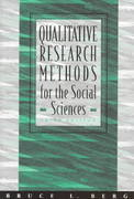 Qualitative Research Methods for the Social Sciences 3rd edition 9780205264759 0205264751