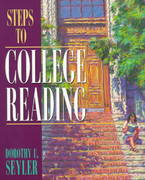 Steps to College Reading 1st edition 9780205265855 0205265855