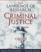 The Language of Research in Criminal Justice 1st edition 9780205268986 0205268986
