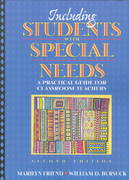 Including Students with Special Needs 2nd edition 9780205280858 0205280854
