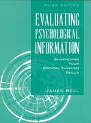 Evaluating Psychological Information 3rd Edition 9780205286355 0205286356