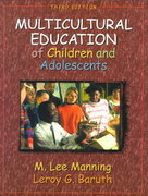Multicultural Education of Children and Adolescents 3rd edition 9780205297603 0205297609