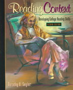 The Reading Context 2nd edition 9780205309252 0205309259