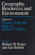 Geography, Resources and Environment, Volume 2 0 9780226425771 0226425770