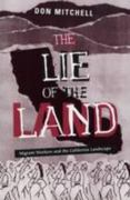 Lie Of The Land 1st Edition 9780816626939 0816626936