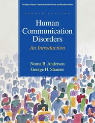 Human Communication Disorders 8th Edition 9780137061334 0137061331