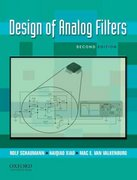 Design of Analog Filters 2nd Edition 2nd edition 9780195373943 0195373944