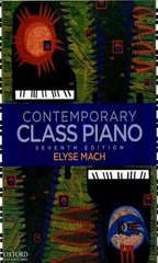 Contemporary Class Piano 7th Edition 9780195389074 0195389077