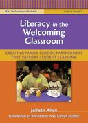Literacy in the Welcoming Classroom 0 9780807750773 0807750778