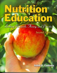 Nutrition Education 2nd Edition 9780763775087 0763775088