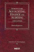 Introductory Accounting, Finance and Auditing for Lawyers 5th edition 9780314912602 0314912606