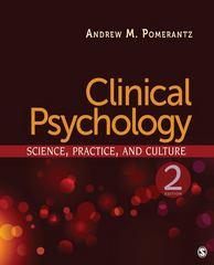 Clinical Psychology 2nd Edition 9781412977630 1412977630