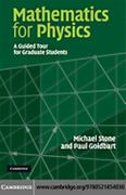 Mathematics for Physics 1st Edition 9780521854030 0521854032