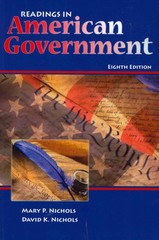 Readings in American Government 8th edition 9780757571480 0757571484