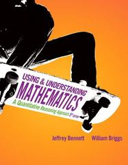 Using and Understanding Mathematics 5th edition 9780321708953 0321708954