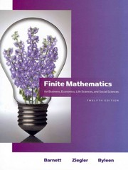 Finite Mathematics for Business, Economics, Life Sciences and Social Sciences plus MyMathLab/MyStatLab Student Access Code Card 12th edition 9780321709035 0321709039