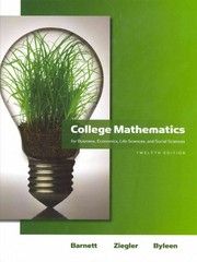 College Mathematics for Business, Economics, Life Sciences & Social Sciences plus MyMathLab/MyStatLab Student Access Code Card 12th edition 9780321714527 0321714520