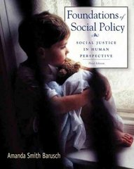 Foundations of Social Policy 3rd edition 9780495507161 0495507164