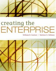 Creating the Enterprise (with Small Business Videos Printed Access Card) 1st edition 9780324353631 0324353634