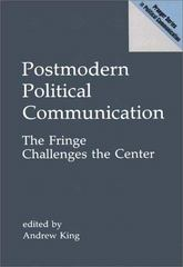 Postmodern Political Communication 0 9780275938406 0275938409