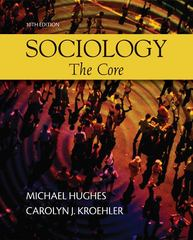 Sociology: The Core 10th edition 9780073528199 0073528196