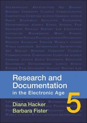Research and Documentation in the Electronic Age 5th edition 9780312566722 0312566727