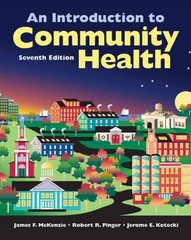 An Introduction To Community Health 7th Edition 9780763790110 0763790117