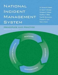 National Incident Management System 2nd Edition 9780763781873 0763781878