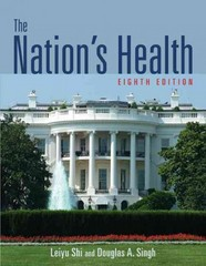 The Nation's Health 8th edition 9781449647551 1449647553