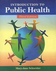 Introduction to Public Health 3rd edition 9780763763817 0763763810