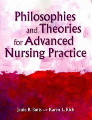 Philosophies And Theories For Advanced Nursing Practice 1st Edition 9780763779863 0763779865