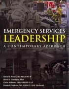 Emergency Services Leadership 1st Edition 9780763781507 0763781509