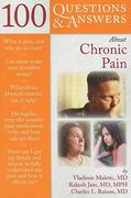 100 Questions And Answers About Chronic Pain 1st edition 9780763786045 0763786047