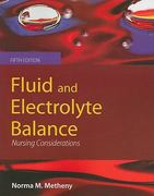 Fluid and Electrolyte Balance 5th Edition 9781449632588 1449632580