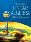 Elementary Linear Algebra with Student Solution Manual