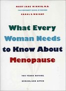 What Every Woman Needs to Know about Menopause 1st edition 9780300065732 0300065736
