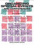 Organizing Special Events and Conferences 2nd edition 9781561642175 1561642177