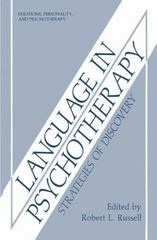 Language in Psychotherapy 0 9780306424229 0306424223