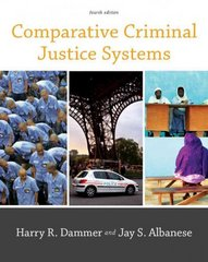 Comparative Criminal Justice Systems 4th Edition 9781133008231 1133008232