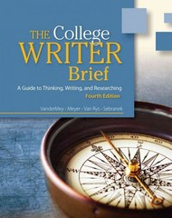 The College Writer 4th edition 9781133420927 1133420923