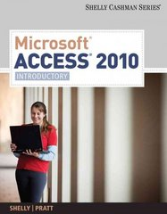 Microsoft Access 2010 1st edition 9781439078471 1439078475