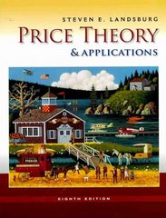 Price Theory and Applications (with Economic Applications, InfoTrac 2-Semester Printed Access Card) 8th Edition 9780538746458 0538746459