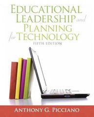 Educational Leadership and Planning for Technology 5th Edition 9780137058228 0137058225