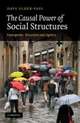The Causal Power of Social Structures 1st edition 9780521194457 0521194458