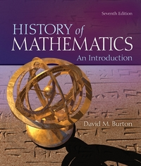 The History of Mathematics 7th Edition 9780073383156 0073383155