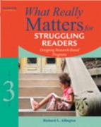 What Really Matters for Struggling Readers 3rd edition 9780137057009 0137057008