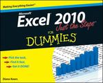 Excel 2010 Just the Steps For Dummies 1st Edition 9780470501641 0470501642