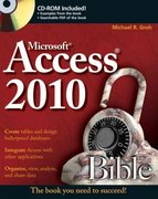Access 2010 Bible 1st Edition 9780470475348 047047534X